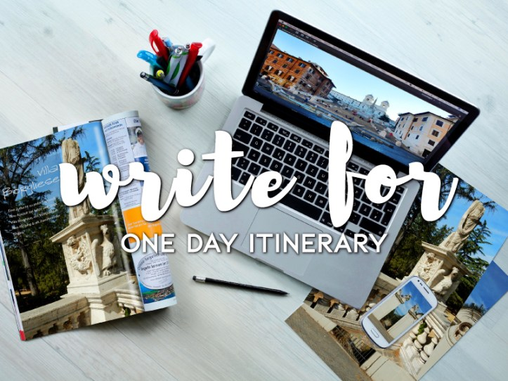 One Day Itinerary - Guest Blogging - Travel Blog