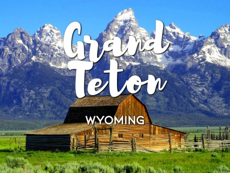 One day in Grand Teton Itinerary