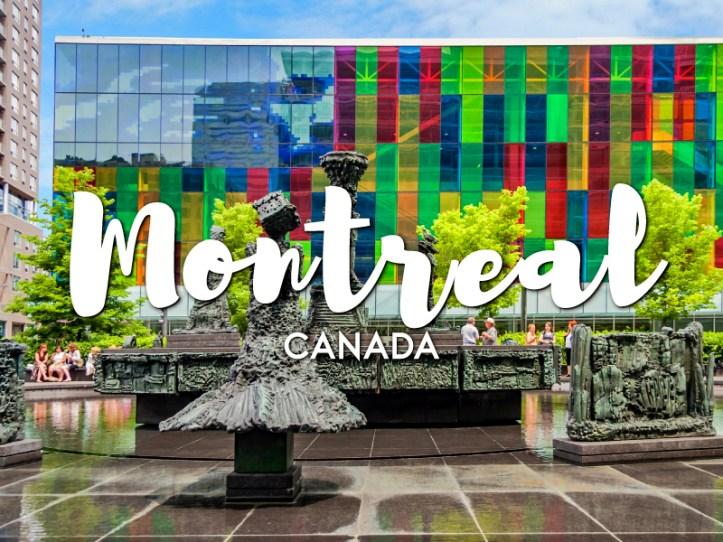 One day in Montreal Itinerary