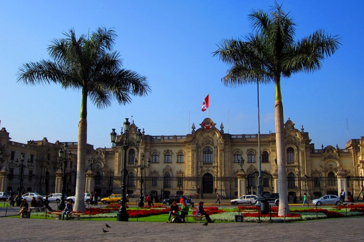 Presidential palace, Lima