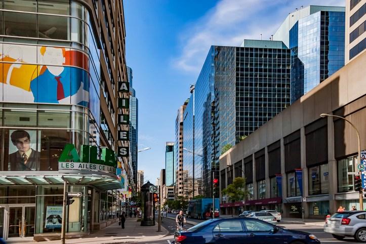 Street of Montreal
