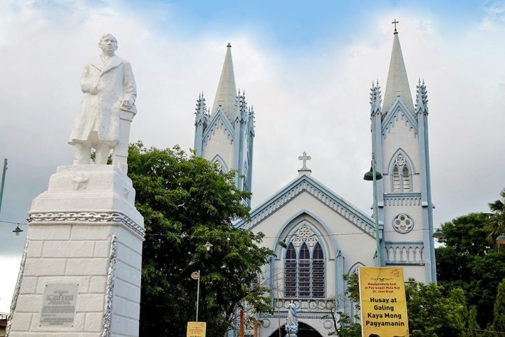 Immaculate Conception cathedral, Puerto Princesa copy