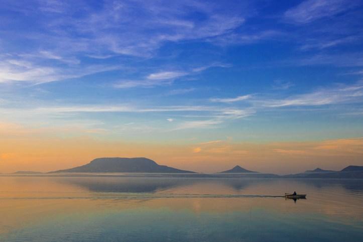 Morning, Lake Balaton