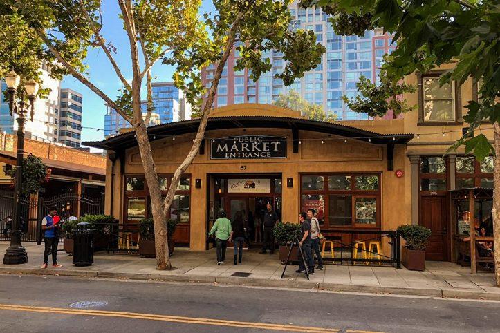 Public Market Entrance, San Pedro Square, San Jose