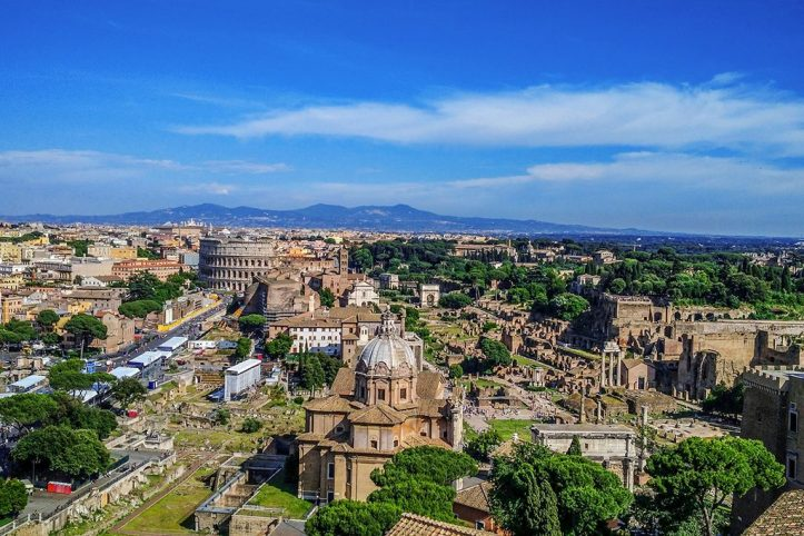 Rome Panoramic View