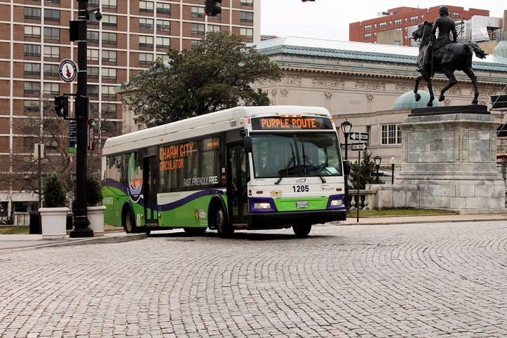 Charm City Circulator, Baltimore