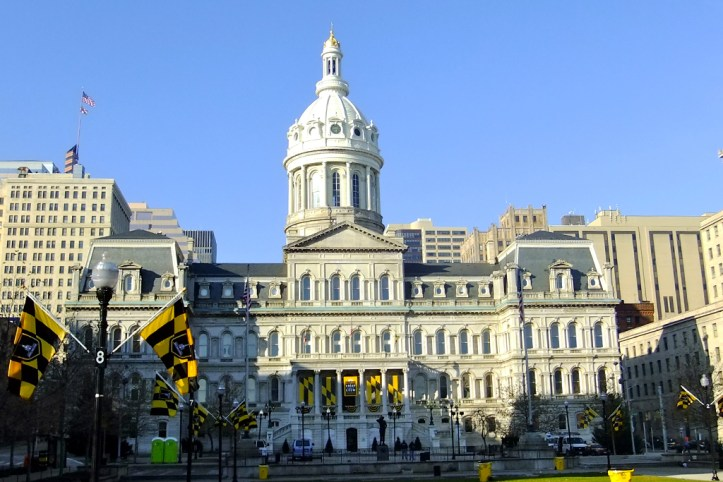 City Hall, Baltimore