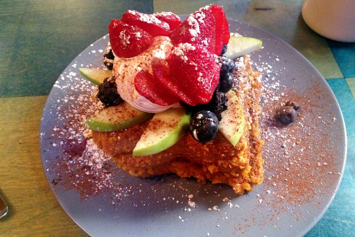 French Toast at Blue Moon Cafe, Baltimore