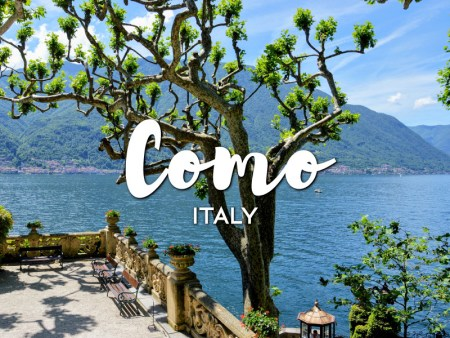 One day in Como Itinerary