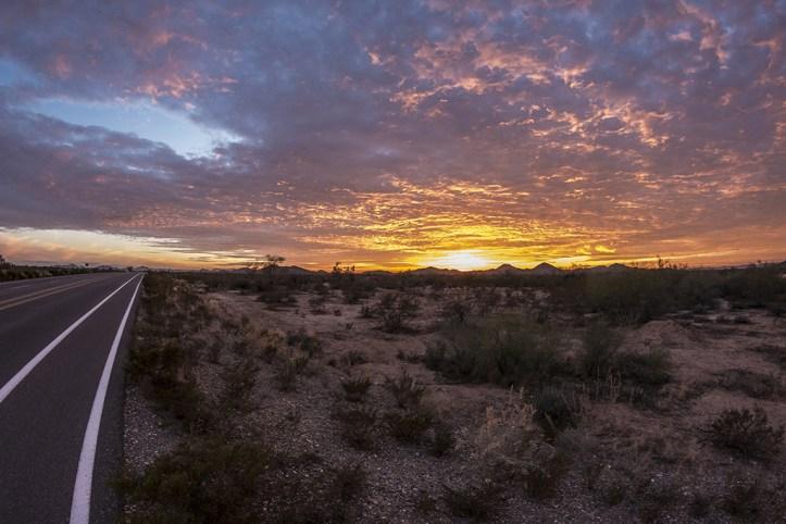 Road from Phoenix