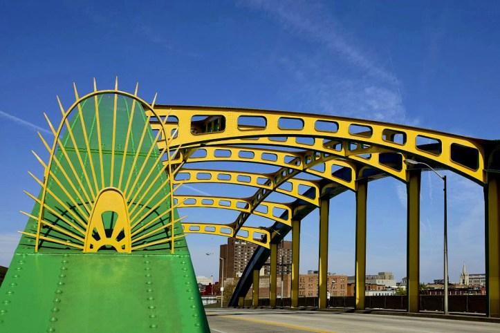 Howard Street Bridge in Baltimore, Maryland