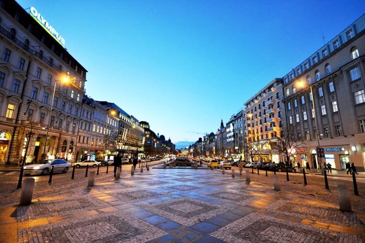 Vaclavske namesti (Wenceslas Square), Prague