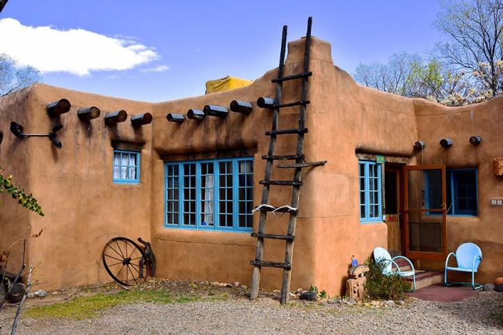 Adobe house, Santa Fe