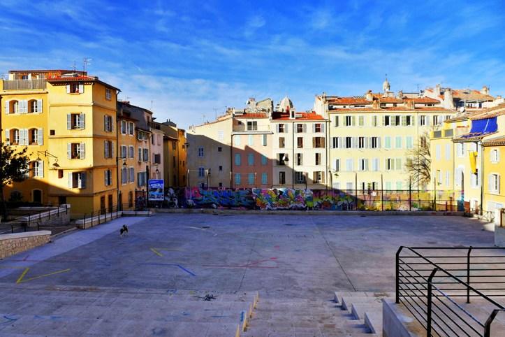 Courtyard, Marseille