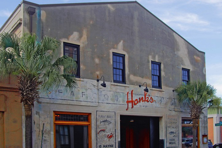 Hanks seafood restaurant, Charleston
