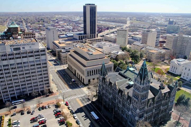 Richmond, downtown