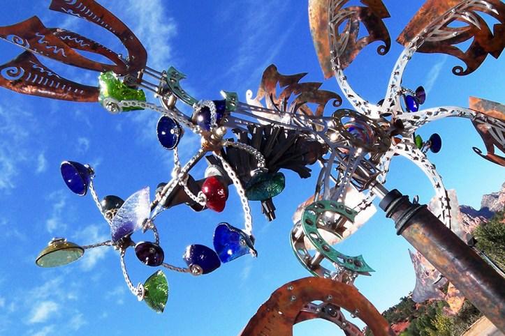 Wind Sculpture, Sedona
