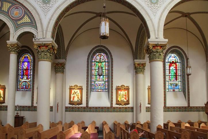 Cathedral Interior, Santa Fe