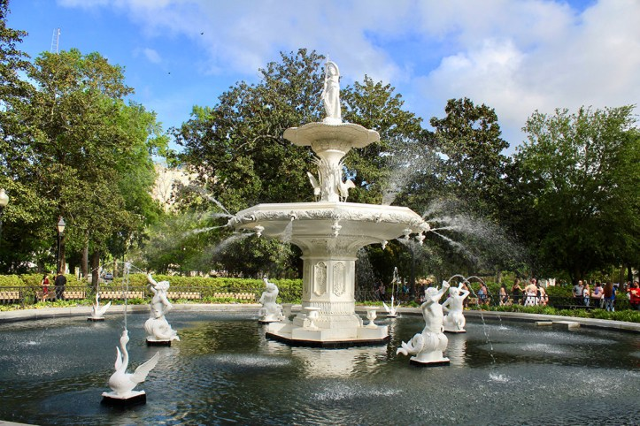 Fountain at Forsyth Park, Savannah