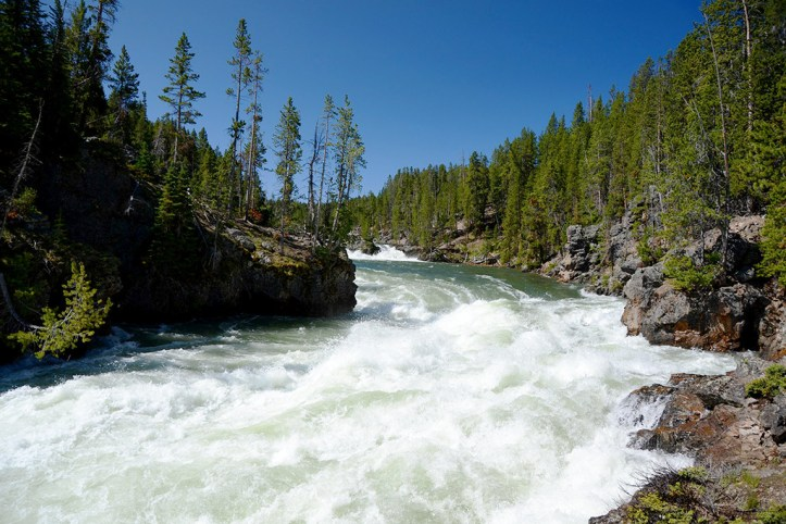 Grand Canyon of Yellowstone Upper Falls, Yellowstone National Park