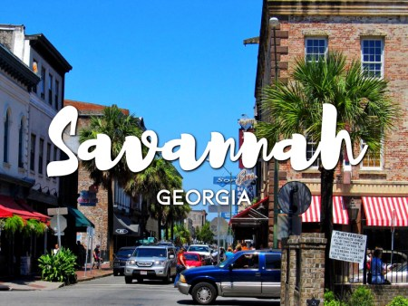 One day in Savannah Itinerary