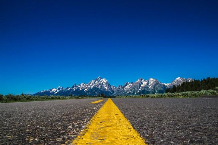 Road to Grand Teton