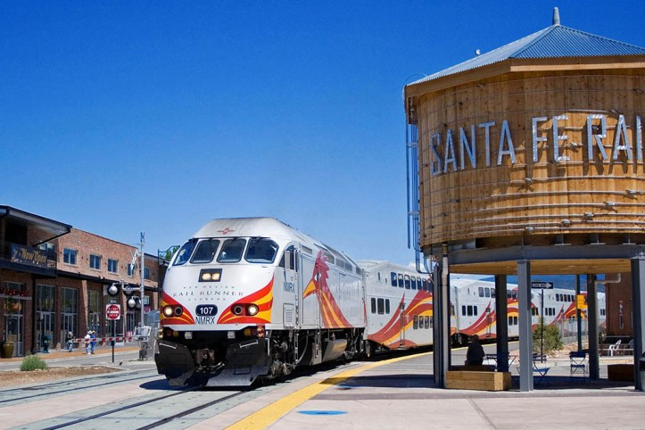 Santa Fe Railroad Station