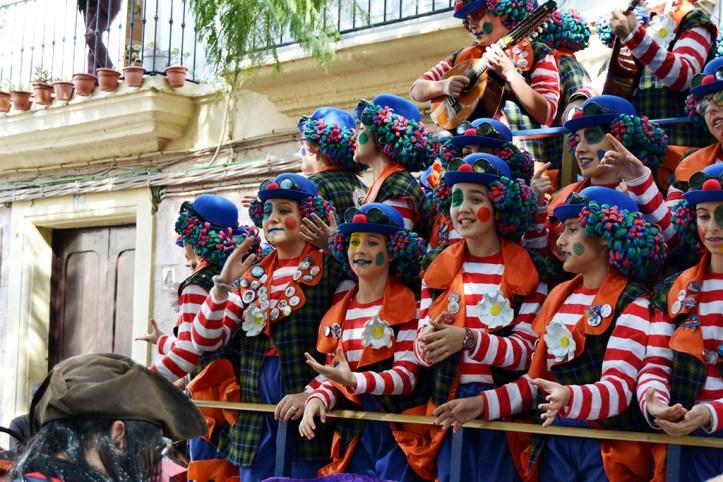 Carnival in February, Cadiz