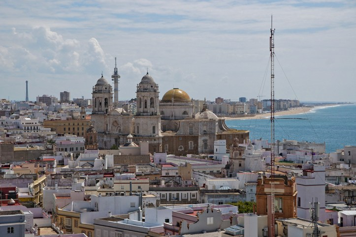 Panoramic view, Cadiz