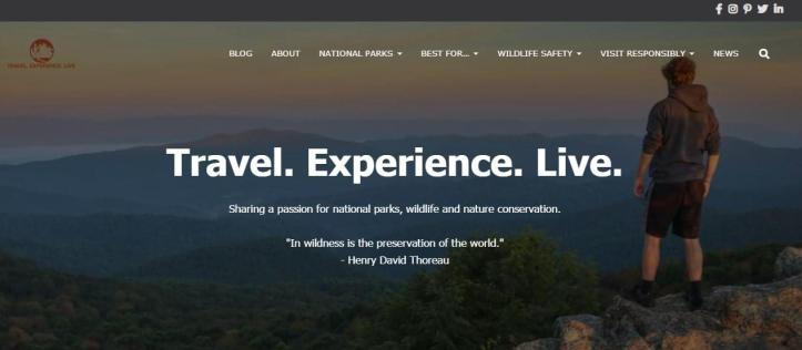 Travel. Experience. Live