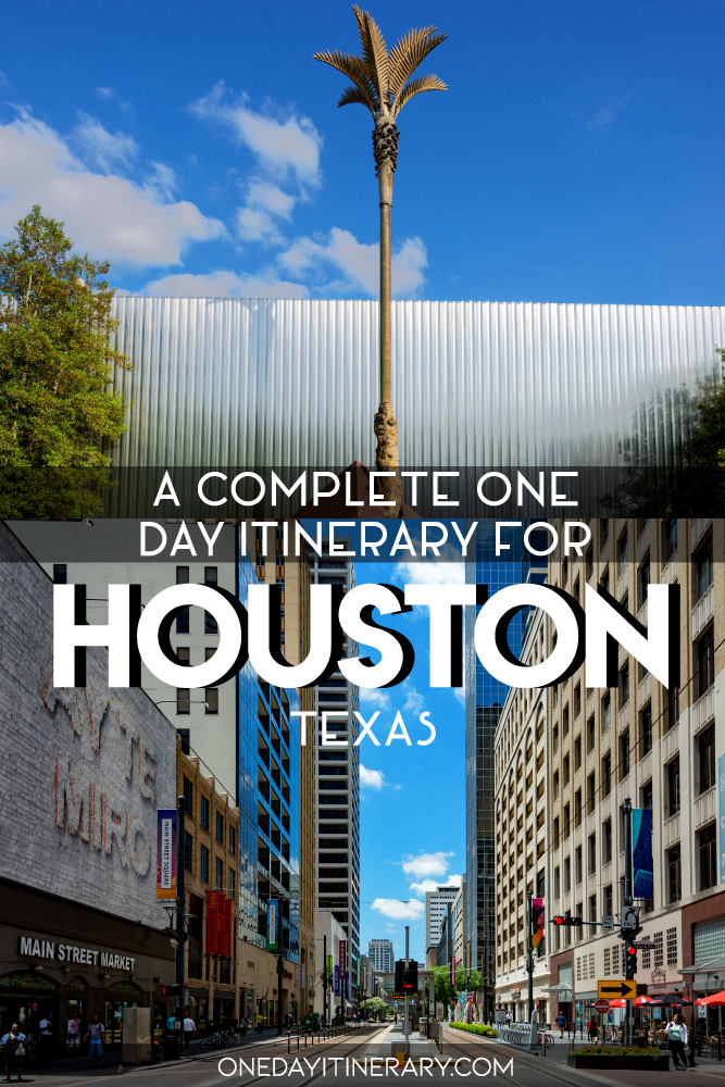 One day in Houston