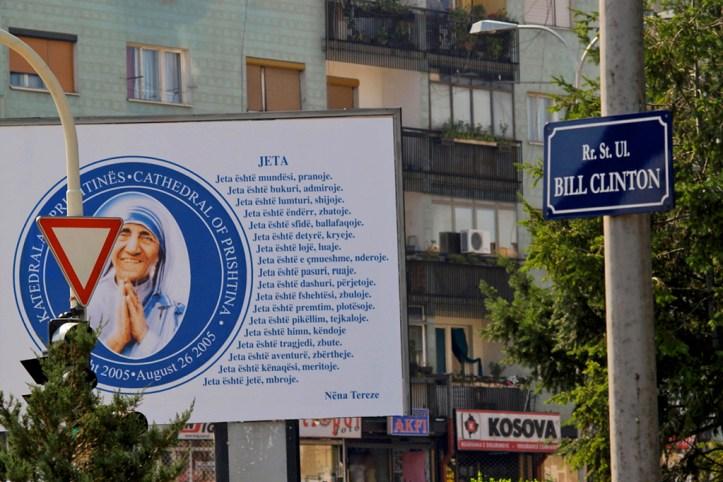 Bill Clinton Boulevard, Pristina