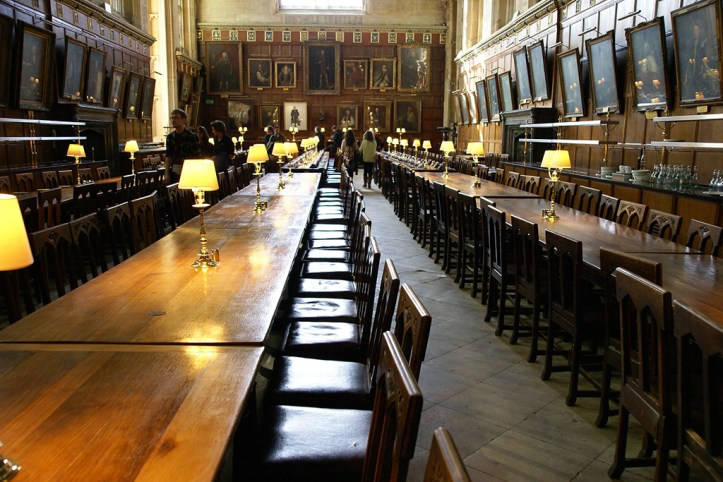 Christ Church College Hall, Oxford