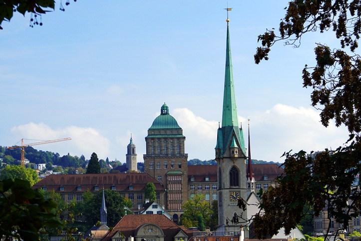 City from Lindenhof Hill, Zurich