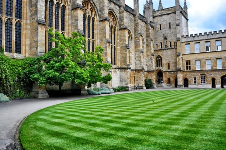 New College yard, Oxford