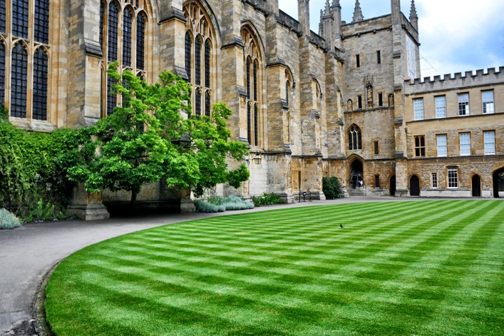 New College yard, Oxford