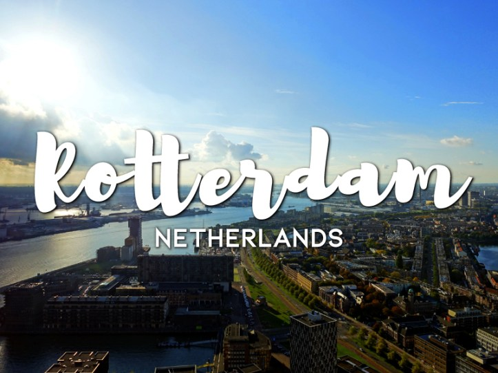 One day in Rotterdam itinerary, Netherlands
