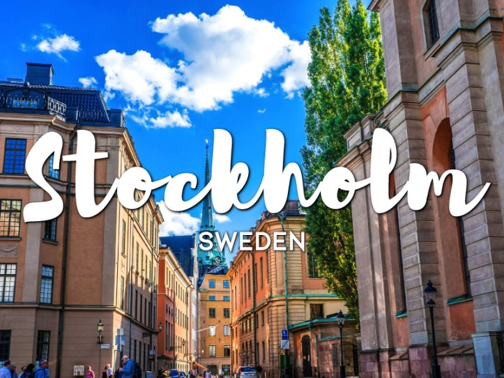 One day in Stockholm itinerary, Sweden
