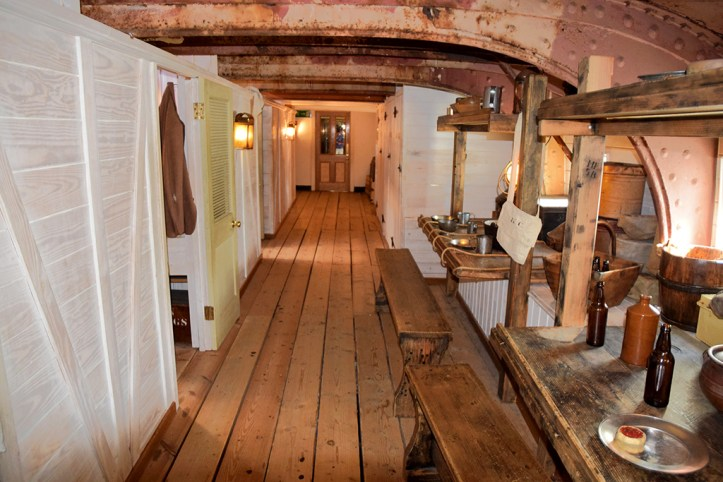 SS Great Britain interior, Bristol