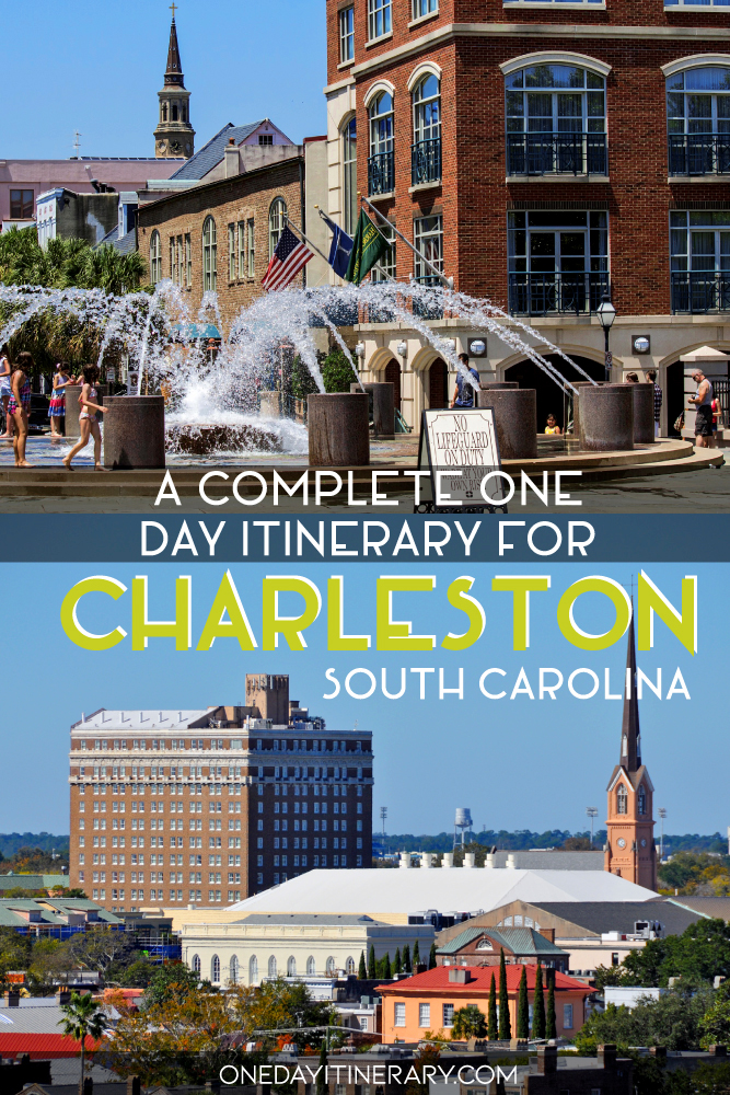 One day in Charleston