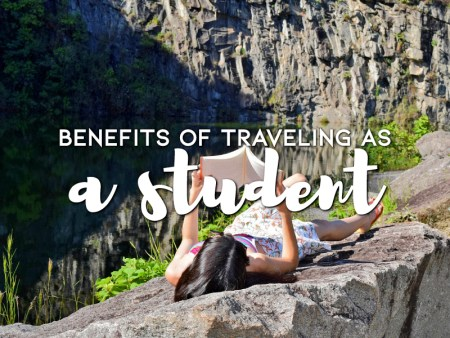 Benefits of traveling as a student