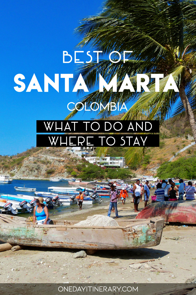 One day in Santa Marta