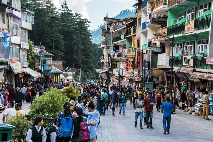 Downtown, Manali
