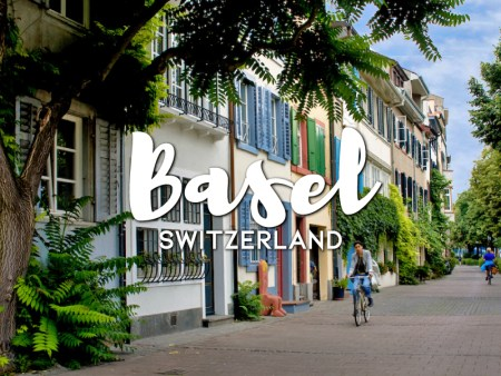 One day in Basel Itinerary