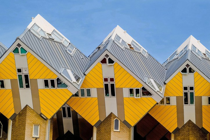 The Cube Houses, Rotterdam