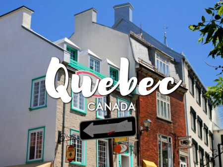 One day in Quebec Itinerary