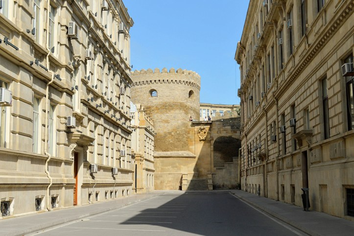 City Walls, Baku