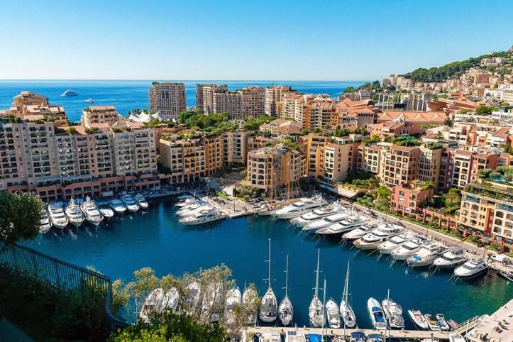 Port de Cap d'Ail, Monaco