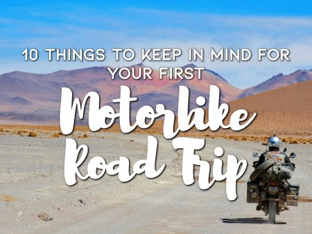 10 Things To Keep In Mind For Your First Motorbike Road Trip
