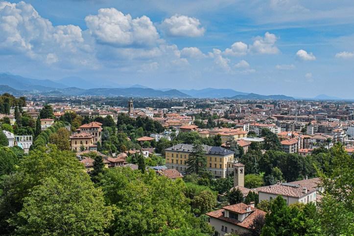 Bergamo Panoramic View